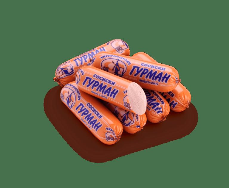 Сосиски Гурман