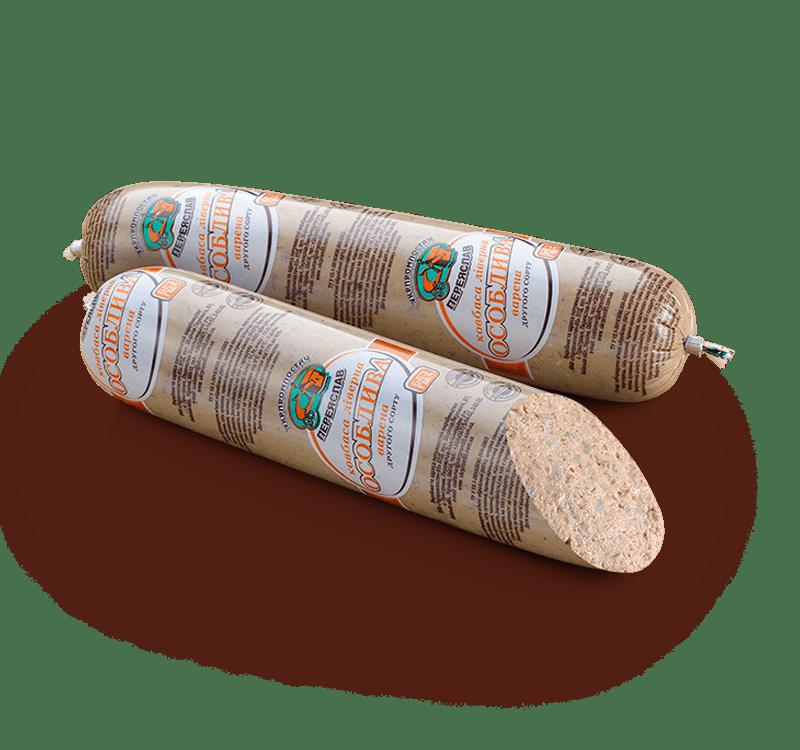 Колбаса ливерная Особая