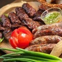 Колбаски из говядины на пиве